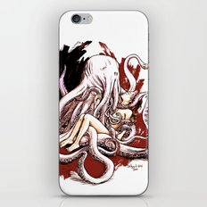 Cuthulhu Love iPhone & iPod Skin