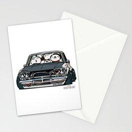 Crazy Car Art 0157 Stationery Cards
