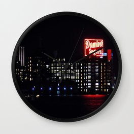 Domino Sugar Factory Wall Clock