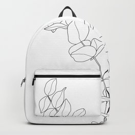 Minimal Hand Holding the Branch I Backpack