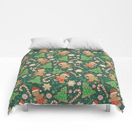 Gingerbread Men Comforters