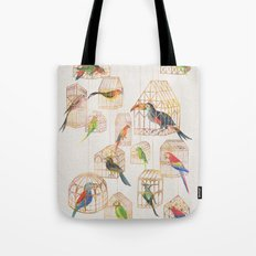 Architectural Aviary Tote Bag