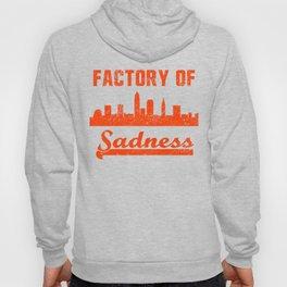 Cleveland Factory of Sadness City Skyline  Hoody