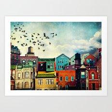 A Grand Avenue Art Print