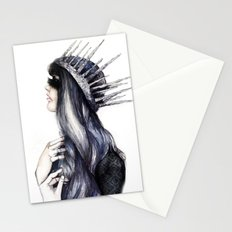 Ice Queen // Fashion Illustration Stationery Cards