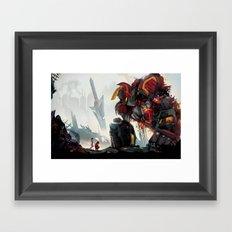 Fallen Heroes Framed Art Print