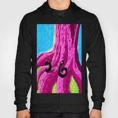 S & 6 Contemplate - With Determination - The Audacity of Climbing the Giant Magic Pink Tree Hoody