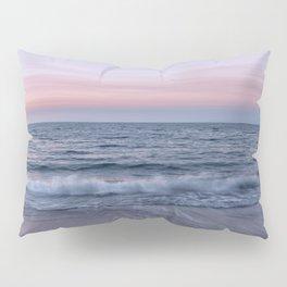 Pastel beach sunset Pillow Sham