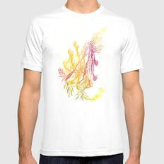 Winding Roots Mens Fitted Tee White MEDIUM