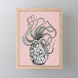 Anoctopus Framed Mini Art Print