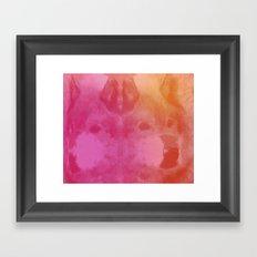 WOLFACE Framed Art Print