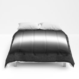 Faux steel plate with rivets Comforters