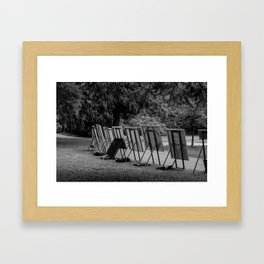 Canvases In The Park Framed Art Print