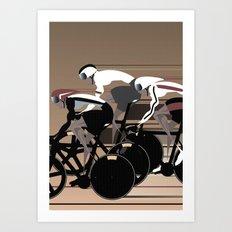 Velodrome Art Print