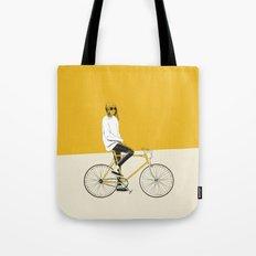 The Yellow Bike Tote Bag