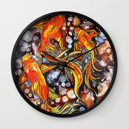 Trickle Wall Clock