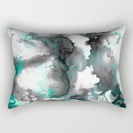 abstract smoke sky inks Rectangular Pillow