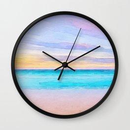 Las Terrenas Wall Clock