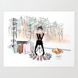 Shoe Boutique Art Print