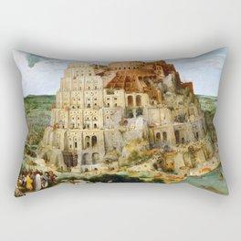 The Tower Of Babel Rectangular Pillow