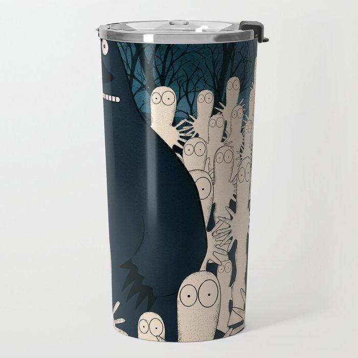 Groke, the moomins Travel Mug