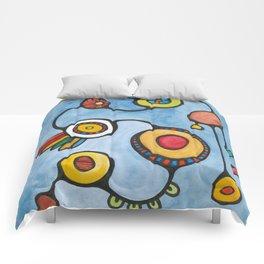 Orbs N Lines - Feels Like Chicken Comforters