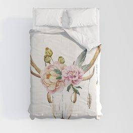 Animal Skull 09 Comforters