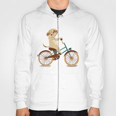 Puppy on the bike Hoody