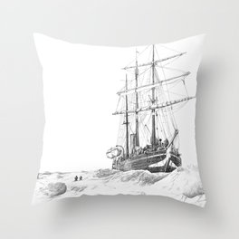 The Endurance Throw Pillow
