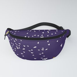 Geometric Cat Low Poly Illustration Fanny Pack