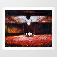 Empty Ballroom by Aaron Bir Art Print