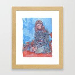Goner Framed Art Print