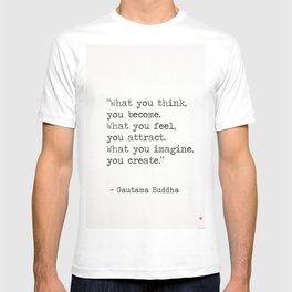 Buddha quote 5 T-shirt