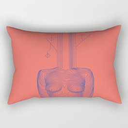 Tefnut Rectangular Pillow