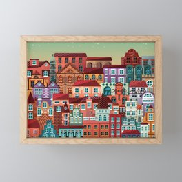 Homes Framed Mini Art Print