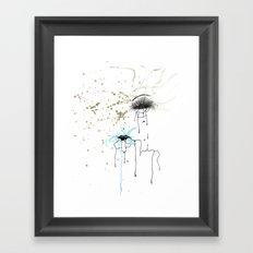 Keep Hustlin' Framed Art Print