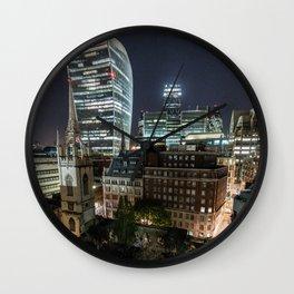London, the Walkie Talkie Wall Clock