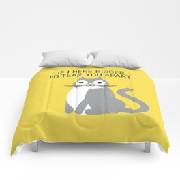 Purrfectly Honest Comforters