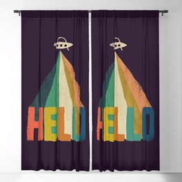 Hello I come in peace Blackout Curtain