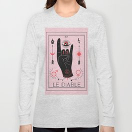 Le Diable or The Devil Tarot Long Sleeve T-shirt