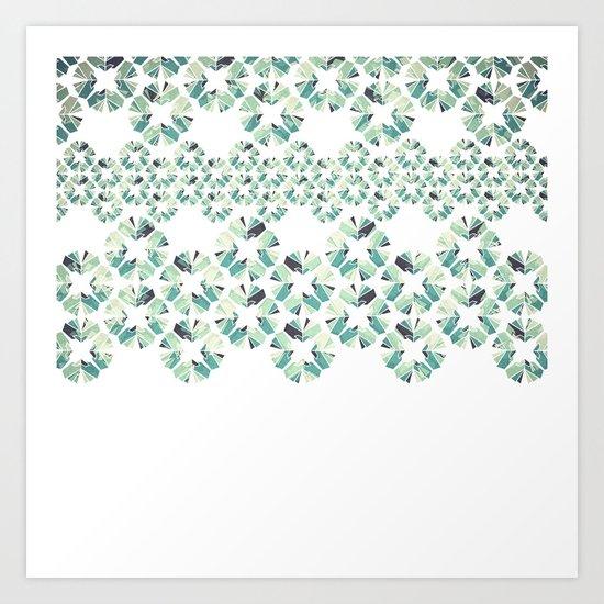 Glass Lace Art Print