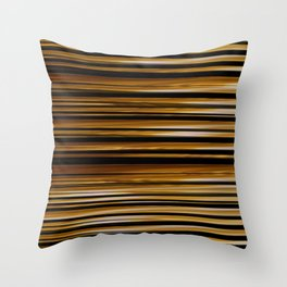 SCOTCH whiskey wood slats with shadows Throw Pillow