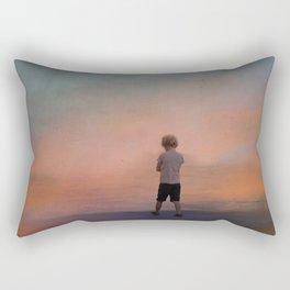 A world of illusions Rectangular Pillow