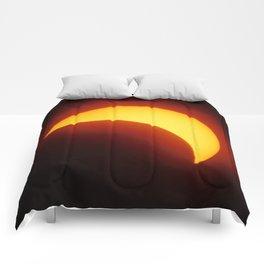 Partial Solar Eclipse Comforters