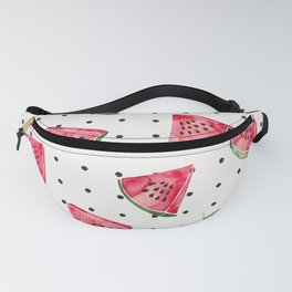 Watermelon Polka Dots Fanny Pack