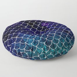 Fantasy Mermaid Scales Floor Pillow