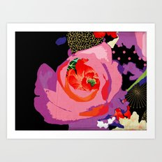 Flowers Series_v01 Art Print