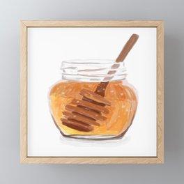 Honey Pot Painting Framed Mini Art Print