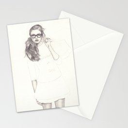 No.6 Fashion Illustration Series Stationery Cards