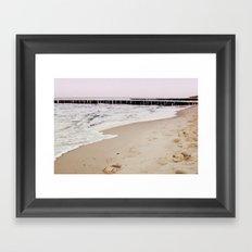 Baltic Sundown No. 2 Framed Art Print